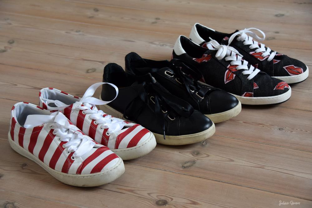 Sneaker flach